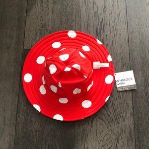 Hanna Andersson Sunblock Reversible Swim Hat